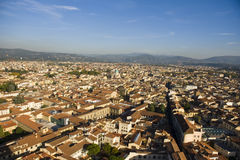 An aerial view taken from the Dome of Florence Royalty Free Stock Photography