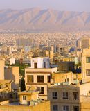 Tehran cityscape. Iran Royalty Free Stock Photography