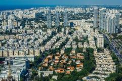 Aerial view in Tel Aviv Stock Image