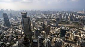 Aerial view of tel aviv skyline Stock Photo