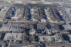 Aerial View of Terminals at LAX Royalty Free Stock Photos