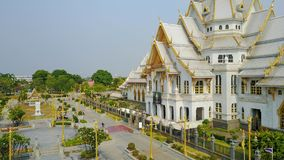 Thai temple church Royalty Free Stock Photos