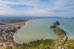 Aerial view of Thailand beach and Islands Royalty Free Stock Photography