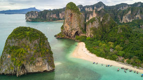 Aerial view on Thailand beach Stock Images