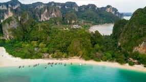 Aerial view on Thailand beach Stock Photo