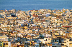 Aerial view of Thessaloniki Stock Photos