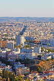 Aerial view of Thessaloniki, Greece Stock Photo