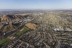 Aerial view of Thousand Oaks California. Aerial view of Thousand Oaks near Los Angeles, California Stock Image