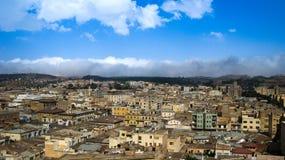 Aerial view to Asmara capital of Eritrea. Aerial view to Asmara, capital of Eritrea Stock Photography