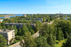 Free Aerial View To Dubna City Skyline Stock Images - 79821544