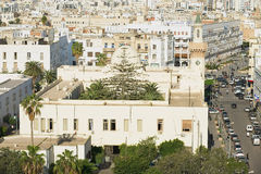 Aerial view to the historical city center of Sfax in Sfax, Tunisia. Stock Image