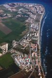 Aerial view to Pervolia village in Cyprus Stock Photography