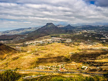 Aerial view to the Roque del Conde Royalty Free Stock Photography