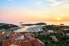 Town of Vrsar, Adriatic coast, Croatia royalty free stock photo