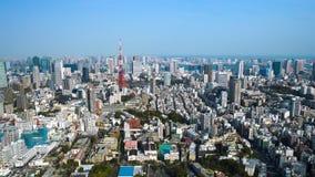 Aerial view of Tokyo city, Japan