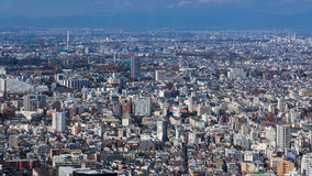 Aerial view of Tokyo city residence area, JapanTokyo crowded residence area aerial view, Japan Stock Photography