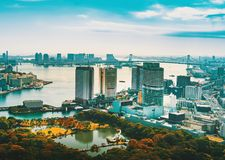 Aerial view of Tokyo, Japan Stock Photo