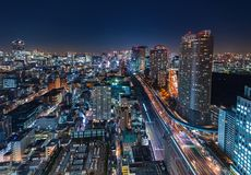 Aerial view of Tokyo, Japan Royalty Free Stock Photo