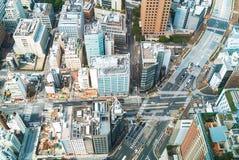 Aerial view of Tokyo, Japan Stock Image