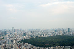 Aerial view of Tokyo, Japan. Royalty Free Stock Photos