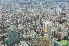 Aerial view for Tokyo metropolis Royalty Free Stock Image