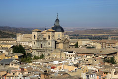 Aerial view of Toledo, Spain. View from above Royalty Free Stock Image
