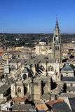 Aerial view of Toledo, Spain. View from above Royalty Free Stock Images