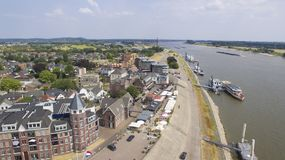 Aerial view on Tolkamer Stock Photo