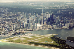 Aerial view of Toronto Stock Photography