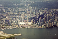 Aerial view of Toronto Royalty Free Stock Photography