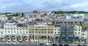 Aerial view of the town of Brighton and Hove, England Stock Photo