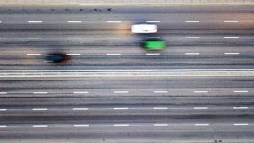 Free Aerial View Traffic On The Road Blurred Background. Photo From The Drone Stock Images - 117170144