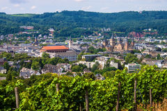 Aerial view of Trier Stock Photos
