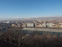 Aerial view of Turin Stock Photo