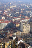 Aerial view of Turin, Italy Royalty Free Stock Images