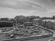 Aerial view of University of Pennsylvania Campus Royalty Free Stock Photography