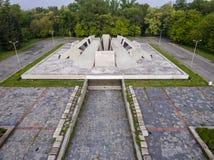 Urban concrete symmetry Royalty Free Stock Photo
