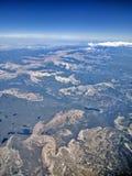 Aerial view of Utah Royalty Free Stock Photos