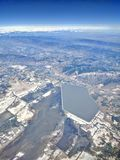 Aerial view of Utah Royalty Free Stock Photography