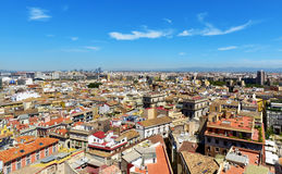 Aerial view of Valencia, Spain Stock Photography