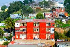 Aerial view Valparaiso Stock Image