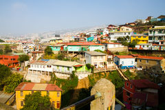 Aerial view Valparaiso Stock Images