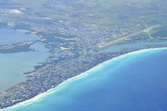 Aerial view Varadero Stock Photo