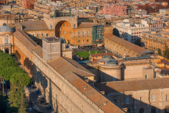 Aerial view of Vatican City and Rome, Italy Royalty Free Stock Image