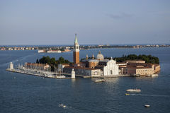 Aerial view of Venice Royalty Free Stock Images