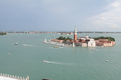 Aerial view of Venice. Italy royalty free stock photos