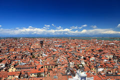 Aerial view of Venice Royalty Free Stock Image