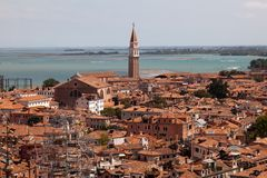Aerial view of Venice Royalty Free Stock Photos