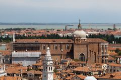 Aerial view of Venice Stock Image