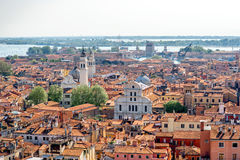 Aerial view on Venice Stock Image